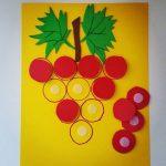 Grape craft preschool