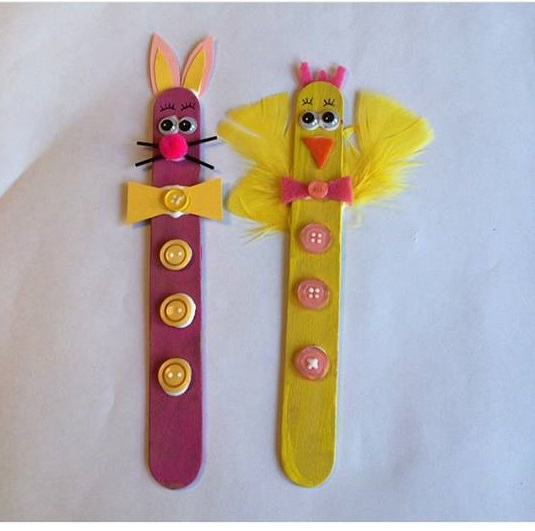 Photo of Ice cream stick craft for preschoolers