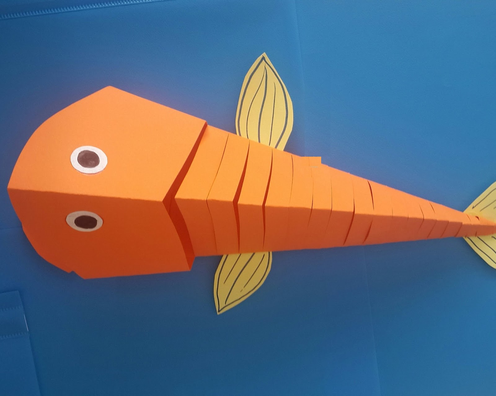 Best 28 fish craft i cute paper fish craft diy crafts for Fish for kids