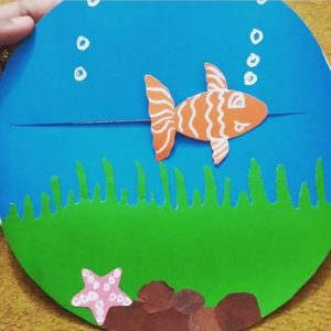 Moving Fish Craft Ideas Funny Crafts