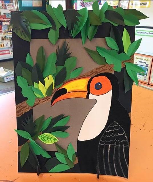kids toucan craft  u00ab preschool and homeschool