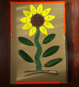 Sunflower craft preschool Funny