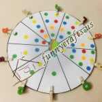 Number match counting wheel