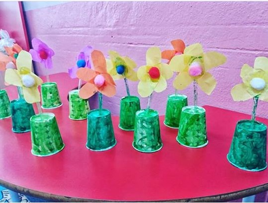 Paper Cup Crafts For Preschoolers Funny Crafts