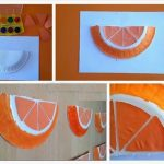 Orange craft for preschool