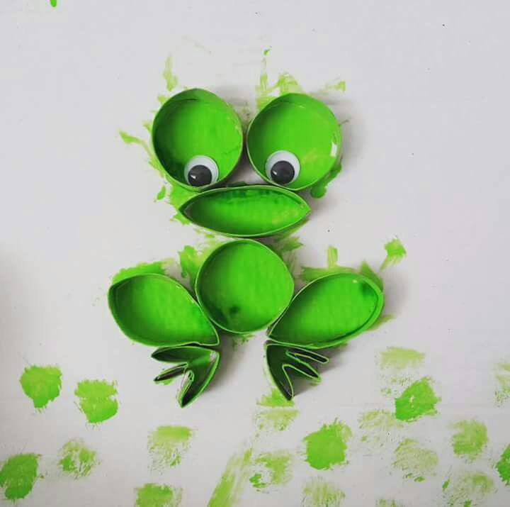 Photo of Frog painting activities