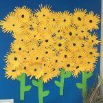 Sunflower craft preschool