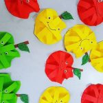 Apple craft for preschoolers