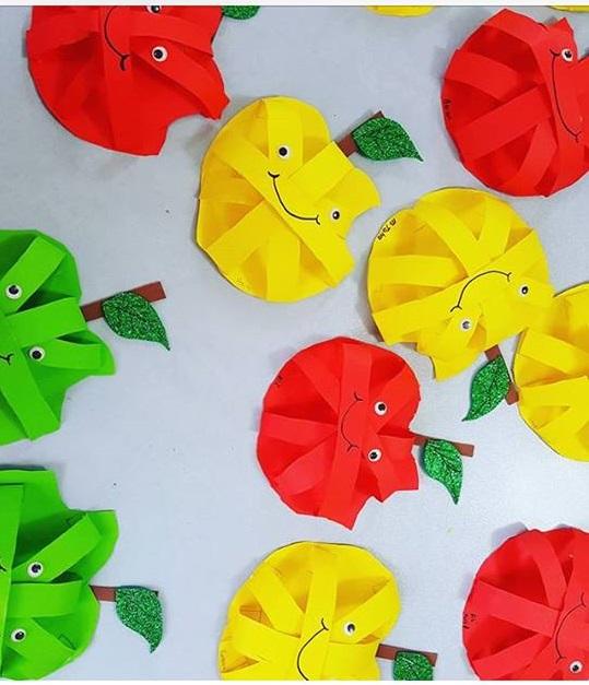 Photo of Apple craft for preschoolers