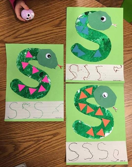S Is For Snake Craft 171 Preschool And Homeschool