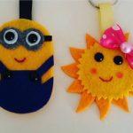 Handmade keyrings ideas
