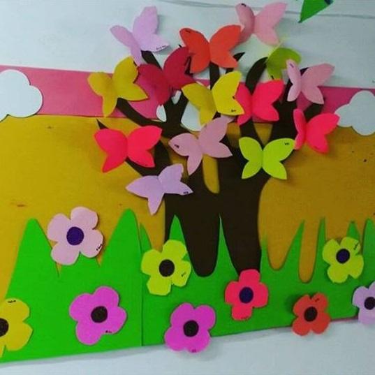 Spring flower craft preschool and homeschool for Preschool flower crafts templates