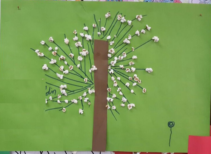 Spring Tree Craft For Preschoolers Themed Project 1