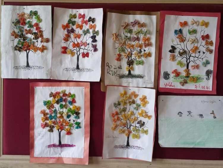 Spring Tree Craft For Preschoolers With Pasta