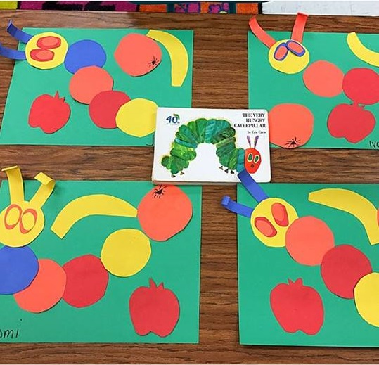 Hungry Caterpillar Craft And Art Ideas