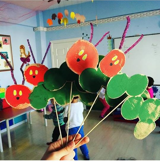 The Very Hungry Caterpillar Crafts (1) « Preschool And