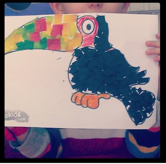 Toucan crafts for preschoolers