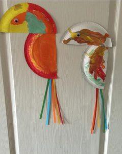 Toucan crafts for preschoolers