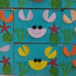 Ocean animals craft for preschoolers
