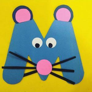 Letter crafts for preschool Funny