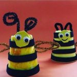 Pipe cleaner craft for preschoolers