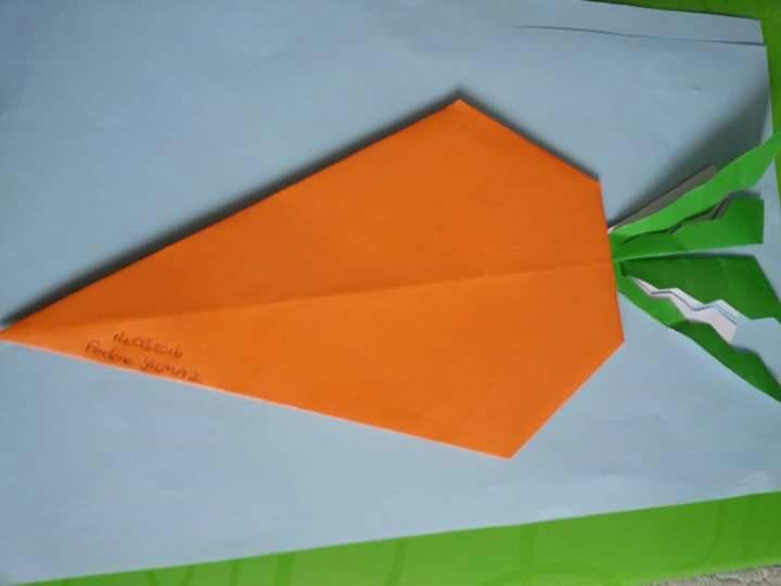 carrot craft for kids Preschool