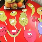 Fruit and vegetables crafts for preschool
