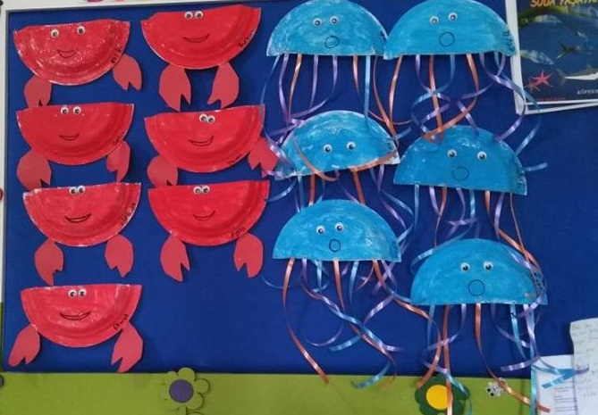 paper plate sea animals Preschool and Homeschool