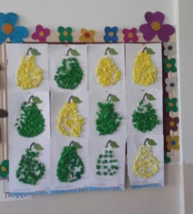 Fruit and vegetables crafts for