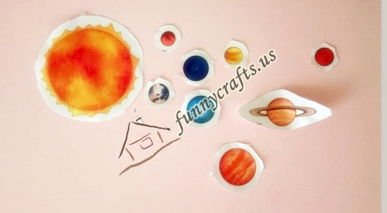 Photo of Solar system cutting activities