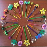 Pencil toppers craft and gift
