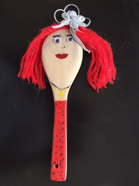 Photo of Wooden spoon puppets
