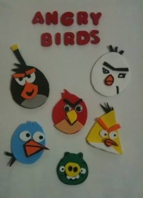 Photo of Angry birds craft ideas