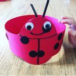 Hat craft for kindergarten