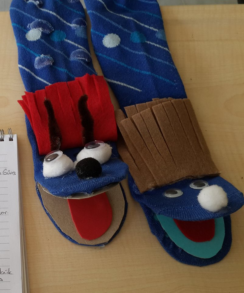 Photo of Sock puppets craft ideas