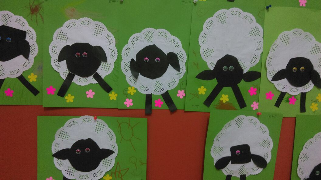 Sheep Art And Craft Funny Crafts