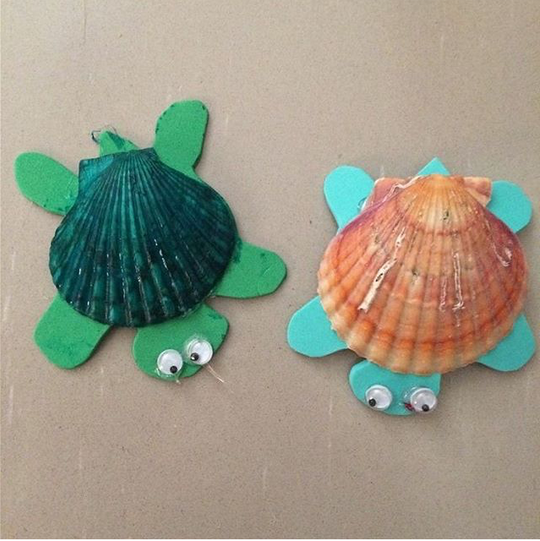 Photo of Seashell crafts