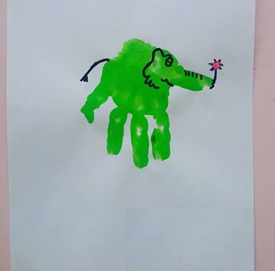 Elephant Art And Craft For Preschool Funny Crafts