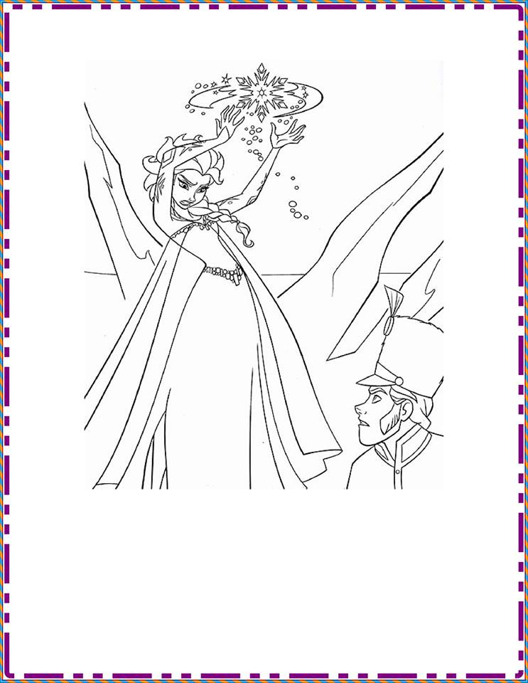 Coloring Pages Frozen 2 : Frozen free coloring pages « preschool and homeschool