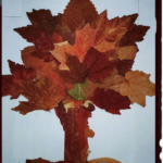 Leaves craft for preschoolers