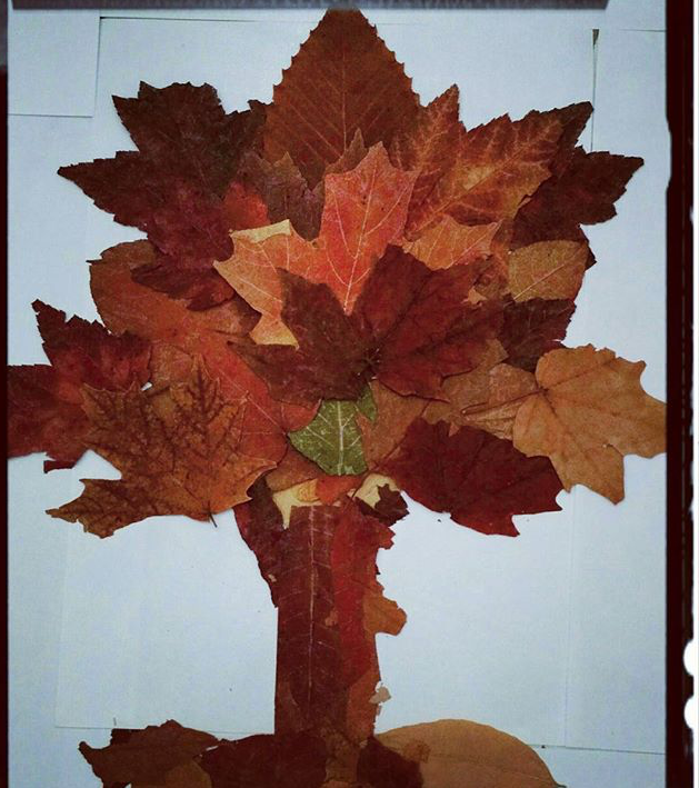 Photo of Leaves craft for preschoolers