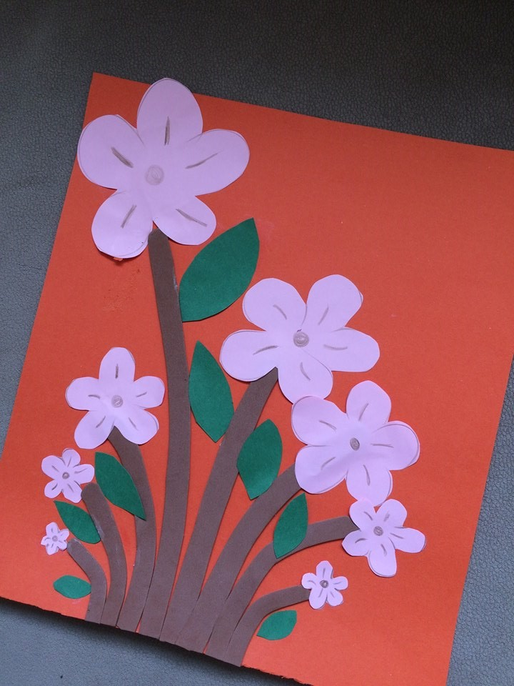 Flower Art Craft Ideas Funny Crafts
