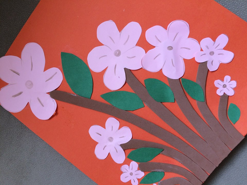 Photo of Flower art craft ideas