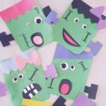 Monster craft for kindergarten
