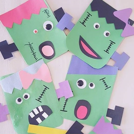 Photo of Monster craft for kindergarten