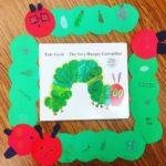 Caterpillar craft preschool