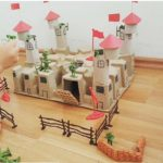 Castle craft for preschoolers