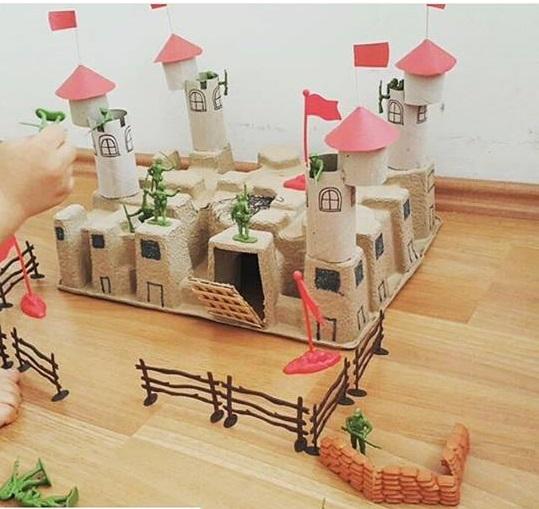 Photo of Castle craft for preschoolers
