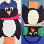 Penguin craft preschool