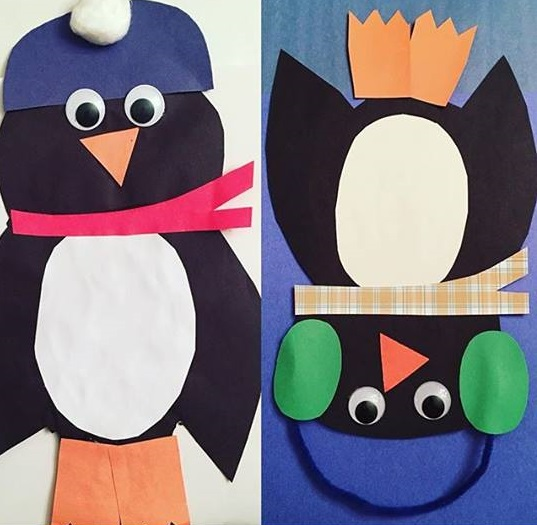 Photo of Penguin craft preschool